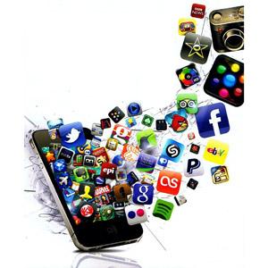 Immagine di uno Smartphone in cui entrano tantissime App