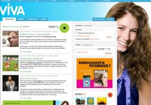 schermata della scheda Blog nel sito di Viva