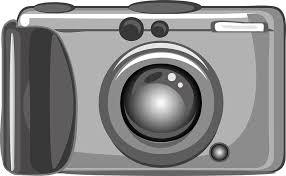 Disegno di una macchina fotografica compatta