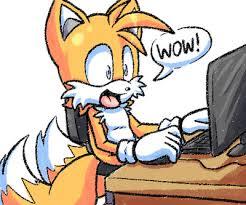 disegno di gatto al computer che dice