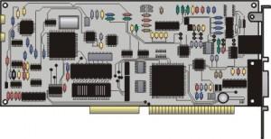 Immagine di una scheda CPU