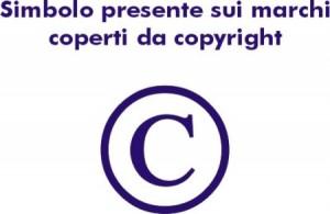 Simbolo presente sui marchi coperti da copyright
