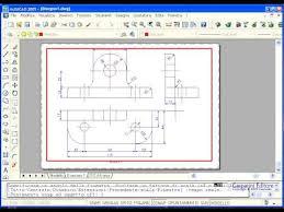 Schermata CAD che mostra la funzione di PAN