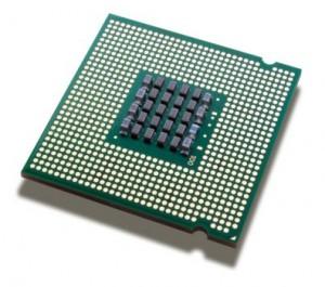 Foto di un processore