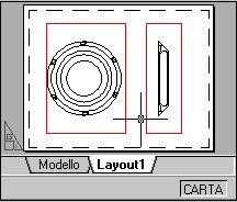 foglio 'Layout1' della cartella CAD CARTA