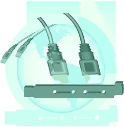 immagine di due cavi USB