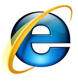 logo di internet explorer