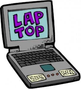 Disegno di computer portatile
