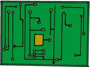 Disegno di un circuito stampato