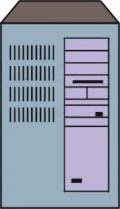 Disegno di un Minicomputer