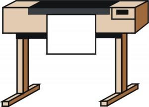 figura schematica di un plotter