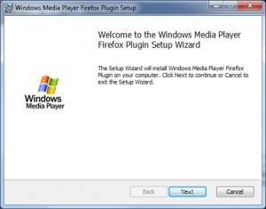 Schermata di setup dei plugin di Firefox