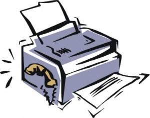 Disegno di una stampante