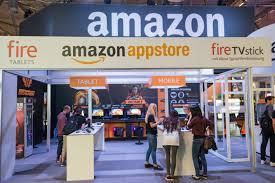 Foto di un negozio Amazon