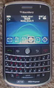 immagine di uno smartphone Blackberry