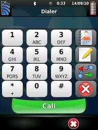 immagine di una tastiera telefonica