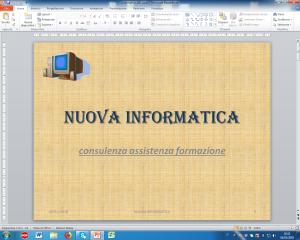 esempio di diapositiva