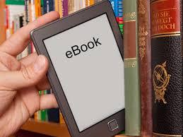 immagine di un lettore di libri elettronici prelevato da una libreria