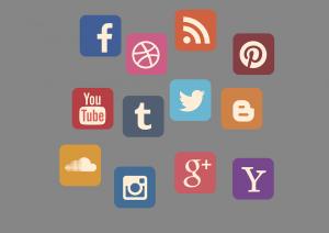 icone di reti sociali