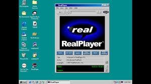 immagine di un o schermo con videata RealPlayer