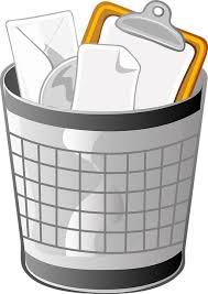 immagine di un cestino rifiuti