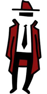 disegno di una spia